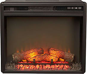 Ashley Furniture Signature Design - Small Electric Fireplace Insert - Includes Insert Only - TV Stand Sold Separately - Black