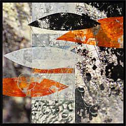 Ptm Images Koi 1 Framed Canvas Wall Art - 9-120773