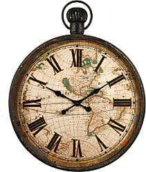 Zentique 37.5 in. Iron Wall Clock - PC029
