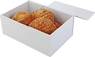 Restaurantware 9 x 6 Magnetic Tic Tac Box, Medium, White - 10ct Box - Restaurantware