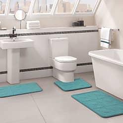 VCNY Byzantine 3 Piece Memory Foam Bath Rug Set Soft Yellow - BYZ-RST-3PCZ-I2-FY