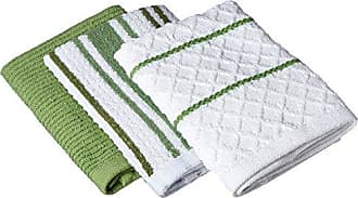 Kay Dee Designs R8929 Café Express Multi Weave Dishcloths (Set of 3)