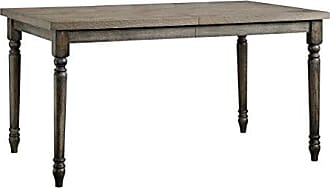 Sauder Sauder 417914 Barrister Lane Weathered Dining Table, L: 59.02 x W: 35.98 x H: 30.00, Vintage Grey finish