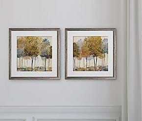 WEXFORD HOME Metallic Forest -2 Piece Set Art Print Silver