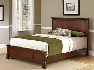 Home Styles Aspen Rustic Cherry King Bed by Home Styles