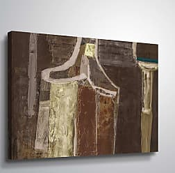 Brushstone Undefined by Scott Medwetz Gallery Wrapped Canvas, Size: 24x32 - 0MED908D2432W
