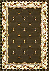 Kas Rugs KAS Oriental Rugs Corinthian Collection Fleur-De-Lis Area Rug, 33 x 411, Green