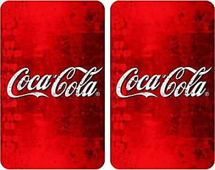 Multicolor 14.5 x 30 x 26 cm Wenko Magnet.Rollenh Geh/ärtetes Glas m.Ablage Coca-Cola Wood