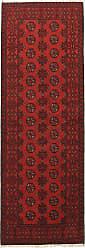 Nain Trading Oriental Afghan Akhche Rug 711x29 Runner Dark Brown/Rust (Wool, Afghanistan, Hand-Knotted)