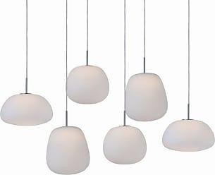 ET2 E21124-11 Puffs 25 LED Pendant White Indoor Lighting