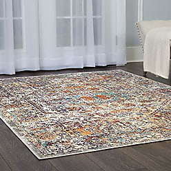 Home Dynamix Shabby Chic Heritage Newburyport 39-890 Area Rug 710x102, Vintage/Distressed Bohemian Blue/Rust/Gray