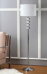 Safavieh Lighting Collection Lombard Street Clear 60.25-inch Floor Lamp