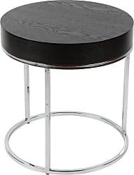 Whiteline Mog Side Table - ST1086-WHT