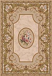 Milliken Carpet 4000031761 Pastiche Collection Montfleur Oval Area Rug, 310 x 54, Ecru