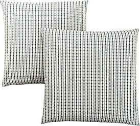 Monarch Specialties Abstract Dot 18 x 18 Light Blue/Grey 2 Piece Pillow