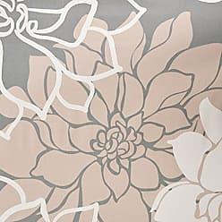Madison Park Lola 100% Cotton Sateen Floral Printed Modern Cute Bathroom Shower Curtain, 72X72 Inches, Blush