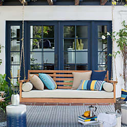 Belham Living Outdoor Belham Living Brighton Deep Seating 65 in. Porch Swing Bed with Cushion - VFS-GO86HD