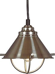 Kenroy Home Harbour Mini Pendant- LED, Brushed Steel Finish