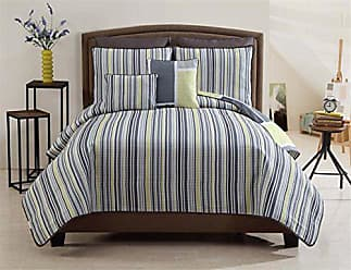 VCNY Home VCNY 7-Piece Morgan Quilt Set, King, Yellow