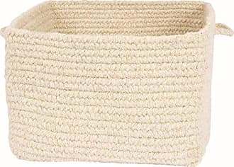Colonial Mills Chunky Natural Wool Basket 14x14x10