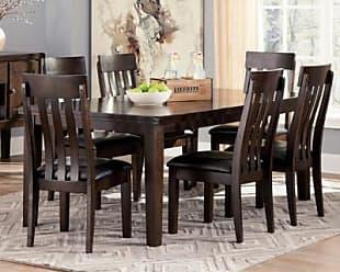 Ashley Furniture Haddigan Dining Room Extension Table, Dark Brown