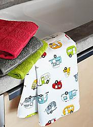 Danica Studio Caravan parade tea towel