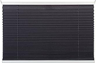 BxH Plissee Klemmträger Sonnenschutz Rollo Jalousie  Grau 80x130