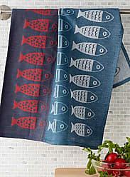 Danica Studio Fishing trip tea towel