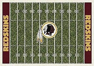 Milliken Carpet Washington Redskins NFL Team Home Field Area Rug by Milliken, 310 x 54, Multicolored