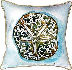 Betsy Drake SN605 Betsys Sand Dollar Pillow 12 x12