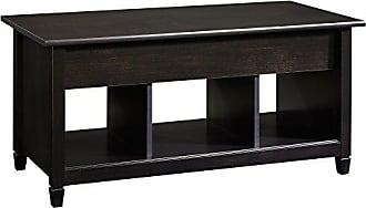 Sauder 414856 Edge Water Lift-Top Coffee Table, L: 41.10 x W: 19.45 x H: 19.09, Estate Black finish