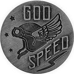 Pewter AngelStar 17422 Guardian Eagle Visor Clip Protect /& Ride