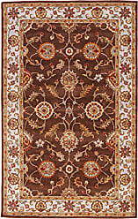 Jaipur Living Maia Hand-Tufted Oriental Brown Area Rug (26 X 6)