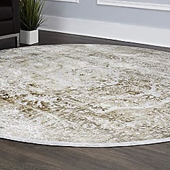 Home Dynamix Nicole Miller Kenmare Capri Vintage Area Rug, Gray/Oat 710 Round