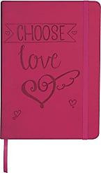 AngelStar Natures Grace Decorative Notebook, 5 x 7, Love Pink