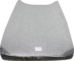 Burt's Bees Baby Knit Terry Organic BEESNUG Fitted Changing Pad Cover - Heather Grey - One Size