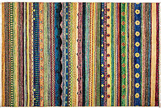 Solo Rugs Lori Hand Knotted Area Rug 4 2 x 6 1 Multicolor