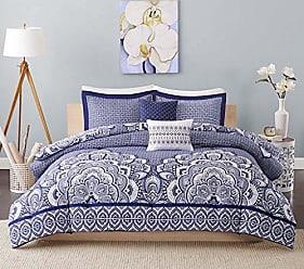 INTELLIGENT DESIGN ID10-366 Comforter Set, Twin/Twin XL, Blue