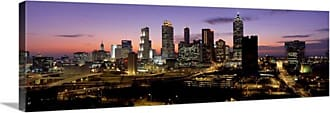 Great Big Canvas Dusk Atlanta GA Canvas Wall Art Print - 33389_24_36X12_NONE
