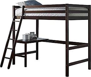 Hillsdale Furniture Furniture 2176-320 Hillsdale Caspian Twin Loft Bed Chocolate