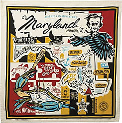 Primitives By Kathy Wanderlust Dish Towel, 28 x 28, Super Maryland