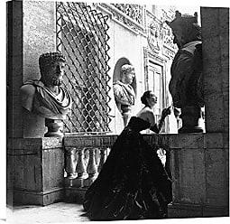 Bentley Global Arts Global Gallery GCS-375174-2424-142 Genevieve Naylor Evening Dress Roma Print