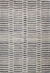 Bashian Chelsea Collection ST264 Hand Tufted 100% Wool Area Rug, 5 x 7.6, Grey