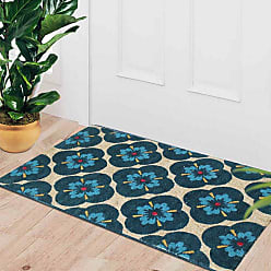 First Impression Yahir Floral Coir Door Mat - PT3002