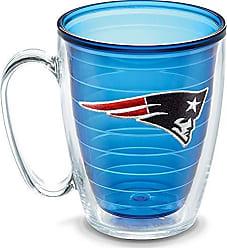 Trevis Tervis NFL New England Patriots Emblem Individual Mug, 16 oz, Sapphire