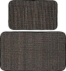 Garland Rug BC000W2P0615 Berber Coloriations 18 x 30/24 x 40, Black
