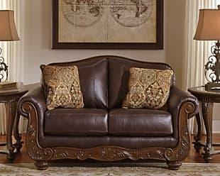 Ashley Furniture Mellwood Loveseat, Walnut
