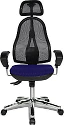 Syncro-Bandscheiben-Drehstuhl Schreibtischstuhl Bezugsstoff apfelgr/ün h/öhenverstellbare Armlehnen und Kopfst/ütze Topstar OP290UG05X Open Point SY B/ürostuhl inkl
