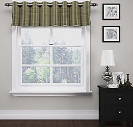 Ellery Homestyles Eclipse 14929052018TUN Deron 52-Inch by 18-Inch Blackout Window Valance, Tundra