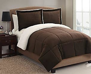 VCNY Home VCNY Home Micromink coforter Set, Twin 66 x 86, Chocolate